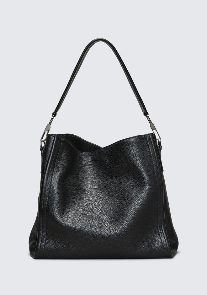 ALEXANDER WANG new-arrivals-bags-woman DARCY HOBO IN PEBBLED BLACK WITH RHODIUM