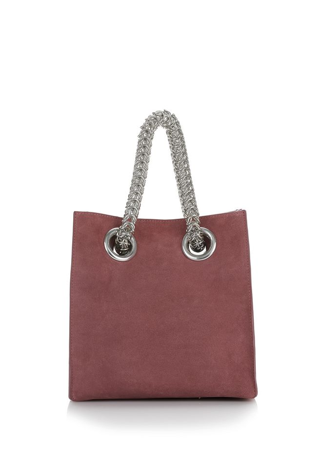ALEXANDER WANG new-arrivals-bags-woman GENESIS SHOPPER IN MAUVE WITH BOX CHAIN