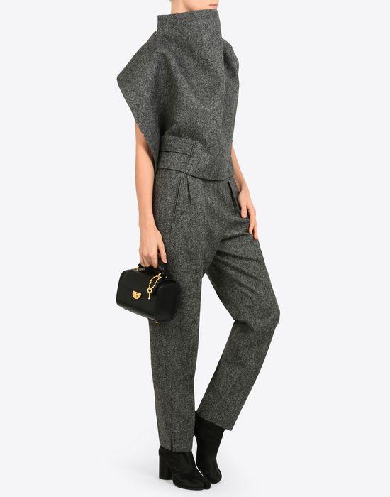 MAISON MARGIELA Mini calfskin 'Replica' bag Handbag Woman b