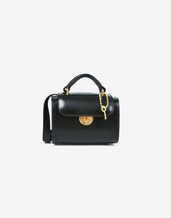 MAISON MARGIELA Mini calfskin 'Replica' bag Handbag Woman f