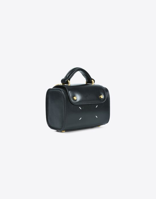 MAISON MARGIELA Mini calfskin 'Replica' bag Handbag Woman r