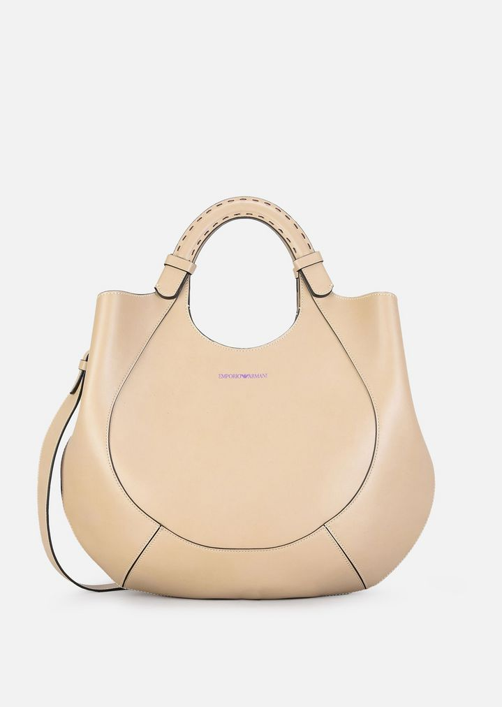 4d1eef7f93 HOBO BAG WITH STRAP | Woman | Emporio Armani