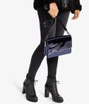 KARL LAGERFELD K/SIGNATURE GLOSS SHOULDER BAG 8_r