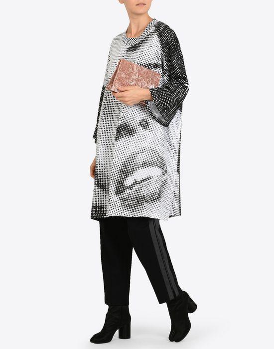 MAISON MARGIELA Velvet pouch with chain strap Clutch Woman b
