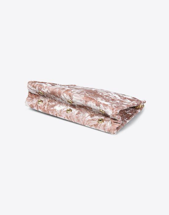 MAISON MARGIELA Velvet pouch with chain strap Clutch Woman e