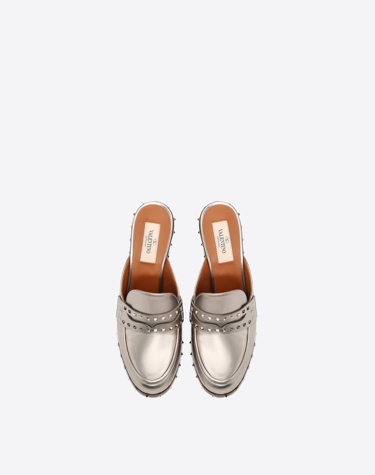 VALENTINO GARAVANI Soul Rockstud 穆勒鞋 穆勒鞋 D e