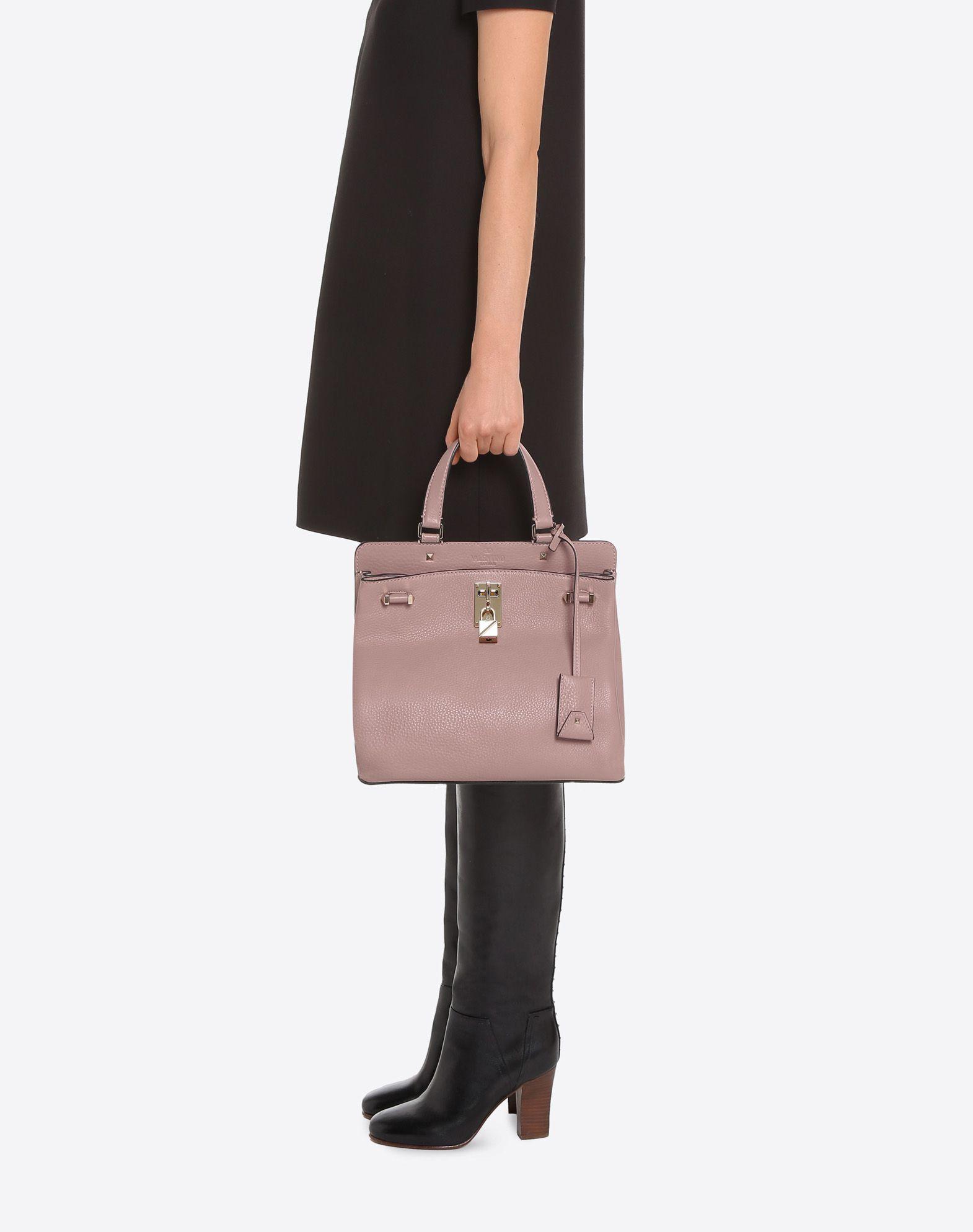 VALENTINO GARAVANI Joylock Medium Handle Bag HANDBAG D a