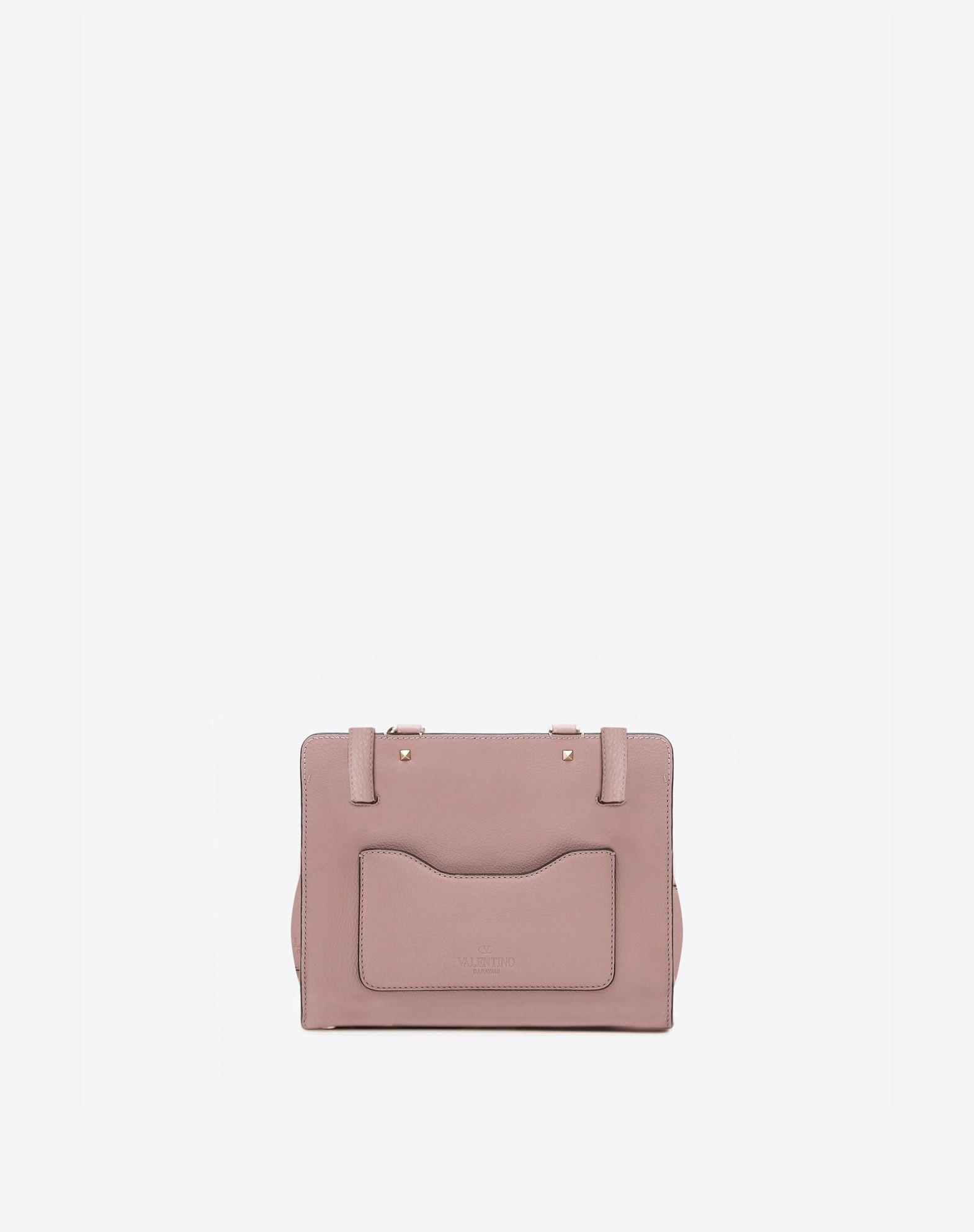 VALENTINO GARAVANI Joylock Medium Handle Bag HANDBAG D d