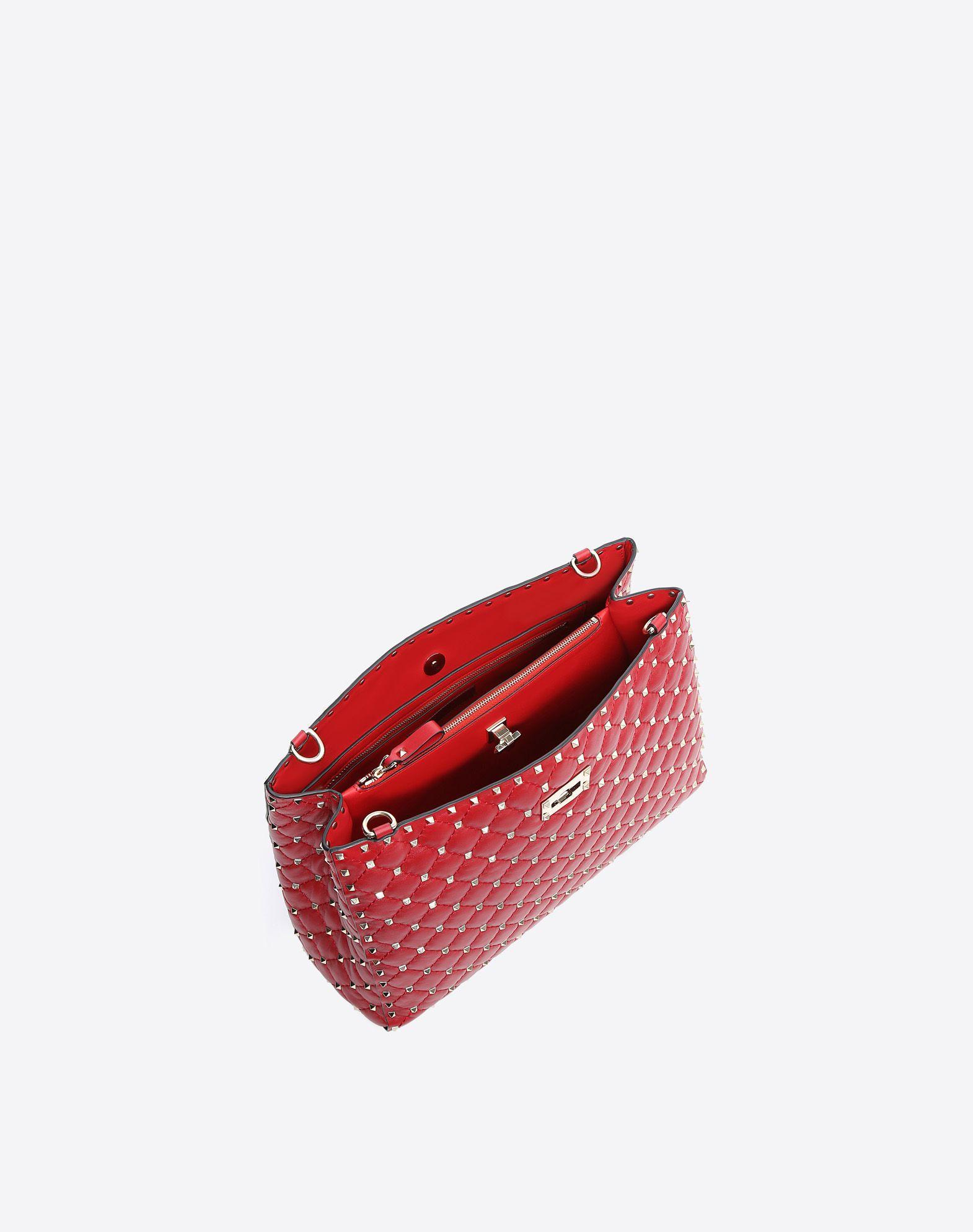 VALENTINO GARAVANI Rockstud Spike Tote Bag Shoulder bag D e