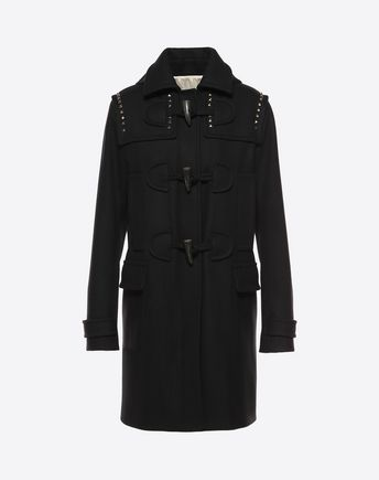 VALENTINO COAT D ROCKSTUD UNTITLED CAMEL COAT f