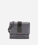 K/Chain Closure Mini Crossbody