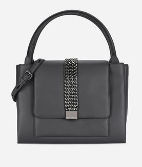KARL LAGERFELD K/CHAIN CLOSURE TOTE