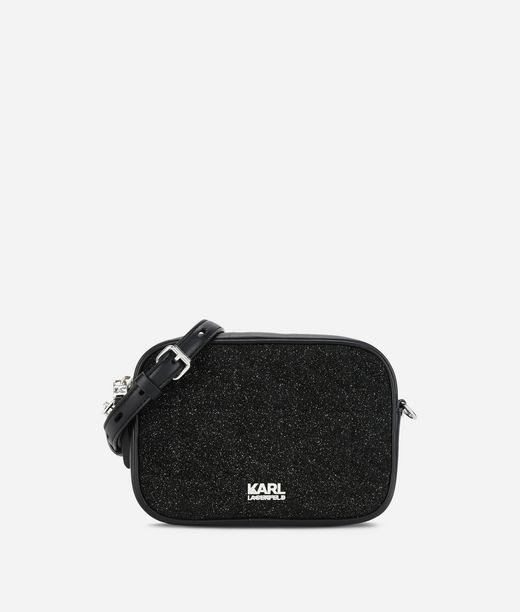 KARL LAGERFELD K/Kuilted Caviar Tracolla 12_f