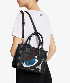KARL LAGERFELD K/PARIS MINI TOTE