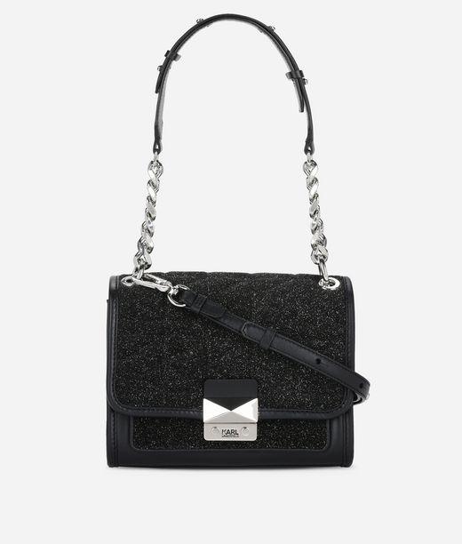 KARL LAGERFELD K/Kuilted Caviar Mini Handbag 12_f