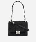 KARL LAGERFELD K/Kuilted Caviar Mini Handbag 8_f