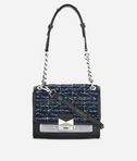 KARL LAGERFELD K/Kuilted Tweed Mini Handbag 8_f
