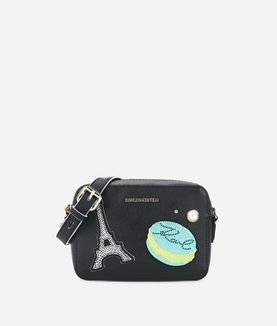 KARL LAGERFELD K/PARIS CAMERA BAG