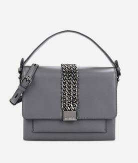KARL LAGERFELD K/CHAIN CLOSURE CROSSBODY
