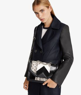 KARL LAGERFELD K/KLASSIK EXOTIC SHOULDERBAG