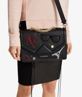 KARL LAGERFELD K/PARIS SHOULDERBAG