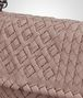 BOTTEGA VENETA SMALL OLIMPIA BAG IN DESERT ROSE INTRECCIATO CALF, EMBROIDERY DETAILS Shoulder Bag Woman ep