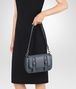 BOTTEGA VENETA KRIM INTRECCIATO NAPPA LEATHER SMALL DOPPIA BAG Shoulder or hobo bag D ap