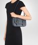 BOTTEGA VENETA SMALL DOPPIA BAG IN KRIM INTRECCIATO NAPPA LEATHER Shoulder or hobo bag D lp
