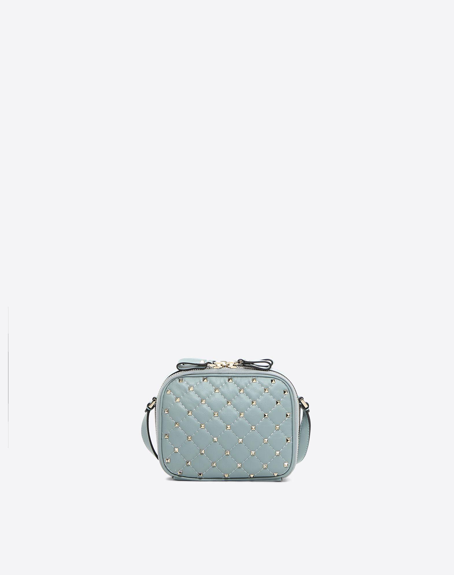 VALENTINO GARAVANI Rockstud Spike Camera Bag Shoulder bag D d