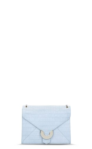JUST CAVALLI Crossbody Bag D Large envelope-style bag in a snakeskin pattern with strap. f