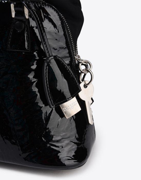 MAISON MARGIELA Mini 5AC in creased patent calfskin Handbag Woman a