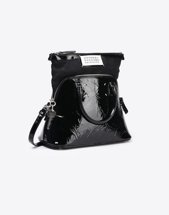 MAISON MARGIELA Mini 5AC in creased patent calfskin Handbag Woman d
