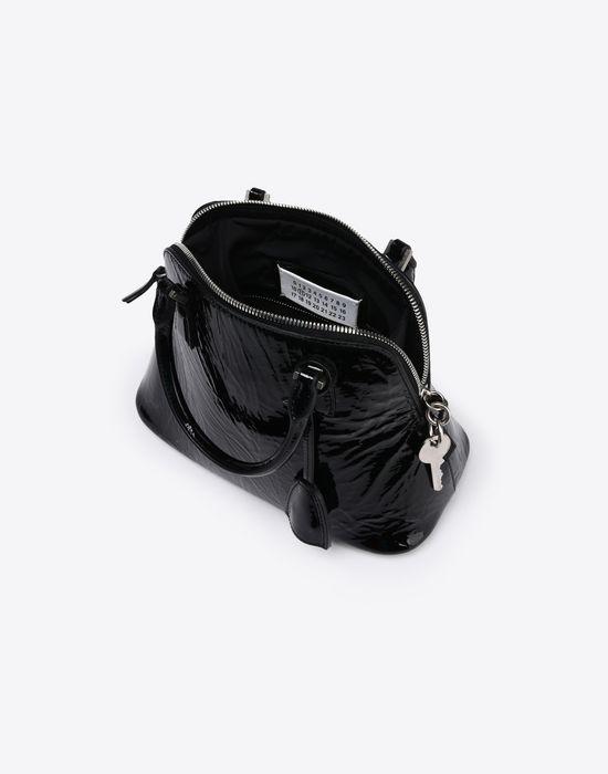 MAISON MARGIELA Mini 5AC in creased patent calfskin Handbag Woman e