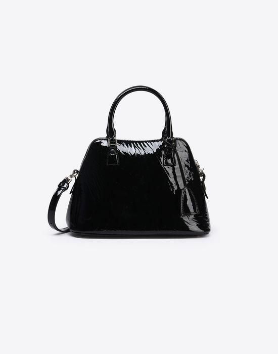 MAISON MARGIELA Mini 5AC in creased patent calfskin Handbag Woman f
