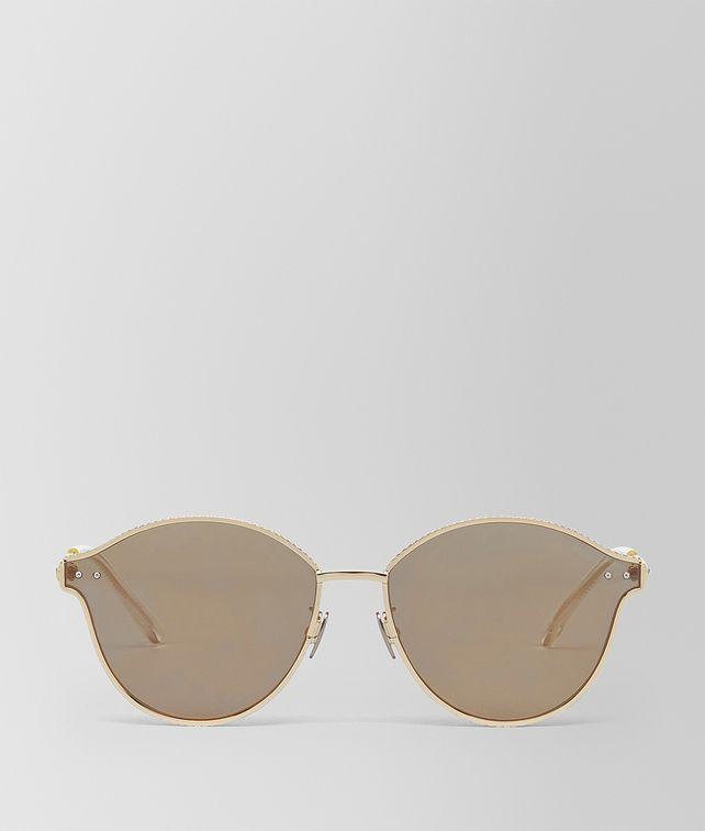 BOTTEGA VENETA ORO METAL SUNGLASSES Sunglasses E fp