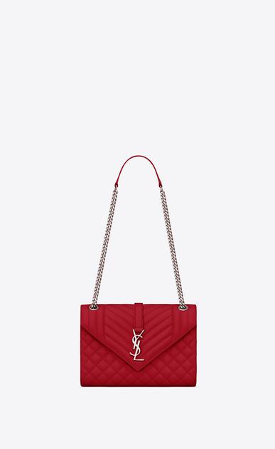 Saint Lau Envelope Medium Bag In Iridescent Grain De