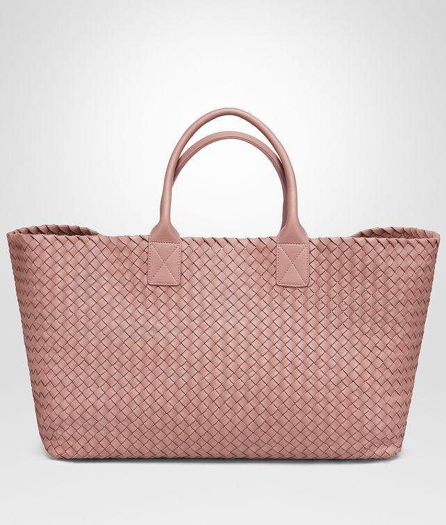 BOTTEGA VENETA WATTEAU LAMBSKIN LARGE CABAT Tote Bag Woman fp