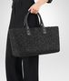 BOTTEGA VENETA NERO LAMBSKIN MEDIUM CABAT Tote Bag Woman ap