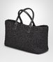 BOTTEGA VENETA NERO LAMBSKIN MEDIUM CABAT Tote Bag Woman rp