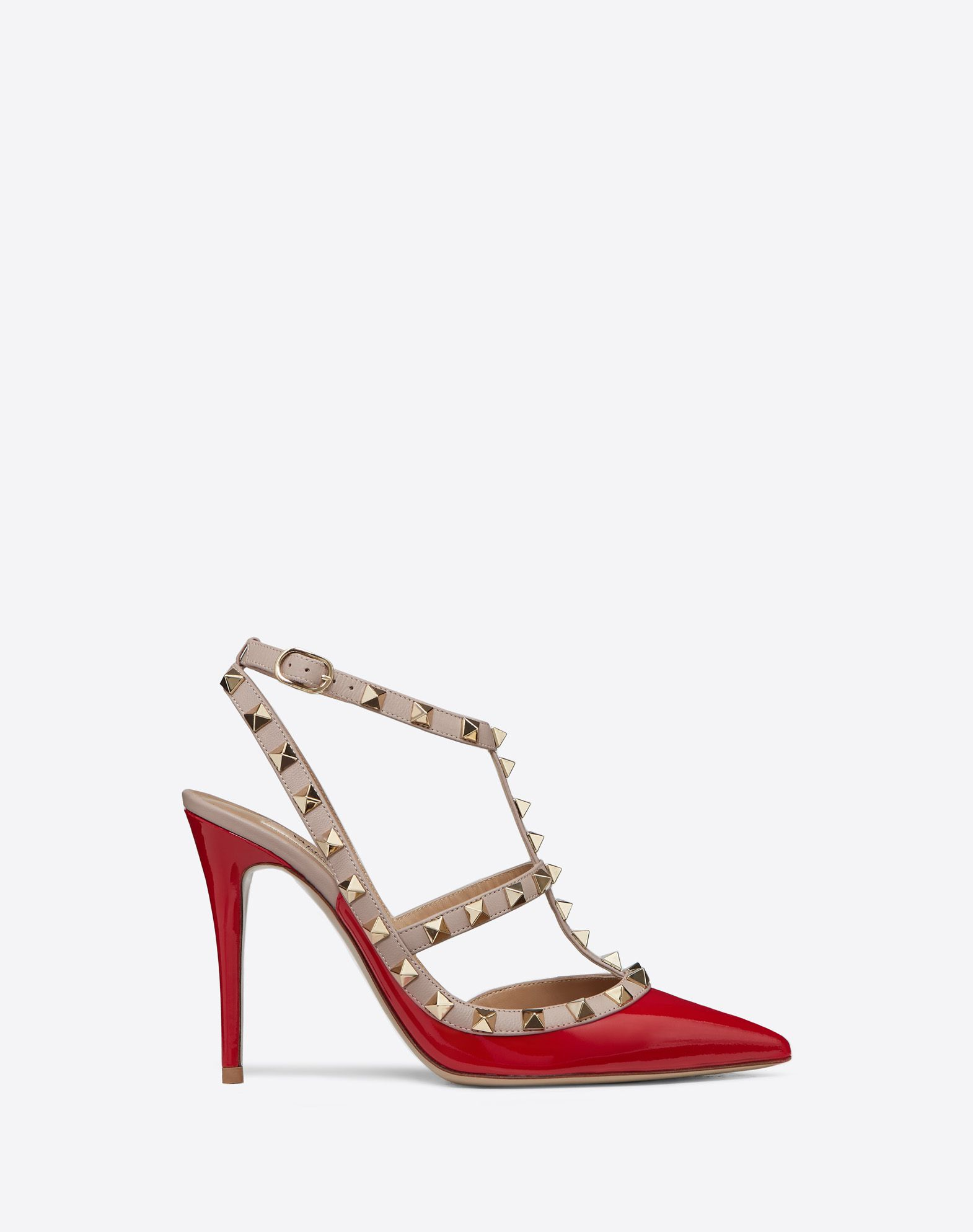 Or Sandales-bride À La Cheville Valentino Rouge 6xV1aT0
