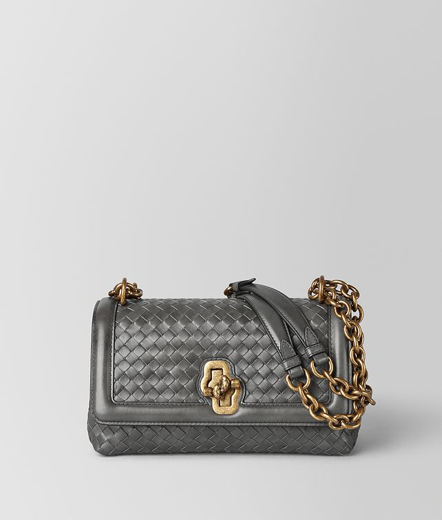 BOTTEGA VENETA OLIMPIA KNOT IN INTRECCIATO NAPPA Shoulder Bag [*** pickupInStoreShipping_info ***] fp