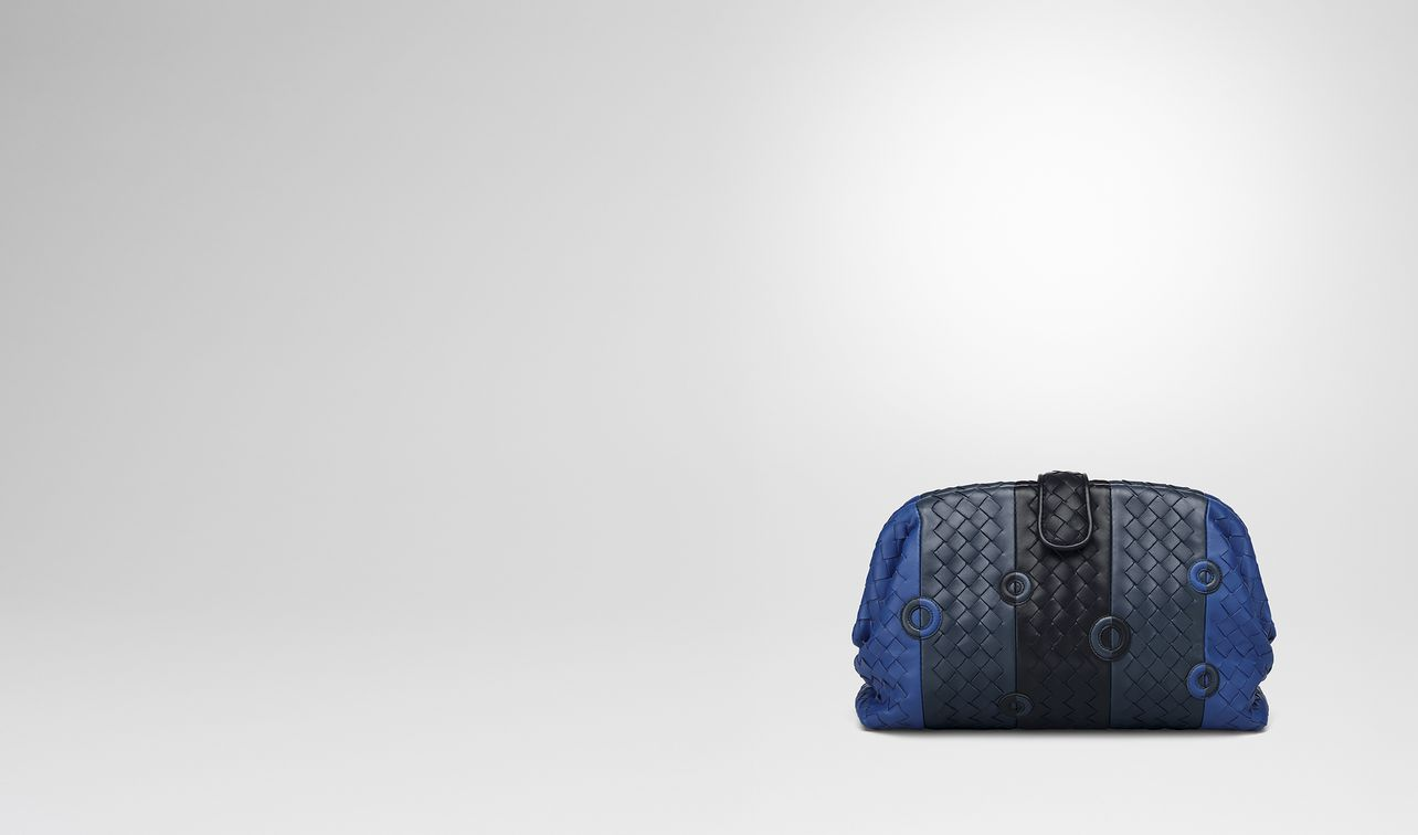 cobalt blue nappa the lauren 1980 clutch landing