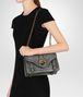 BOTTEGA VENETA LIGHT GREY INTRECCIATO NAPPA TOP CITY KNOT Shoulder Bag Woman lp