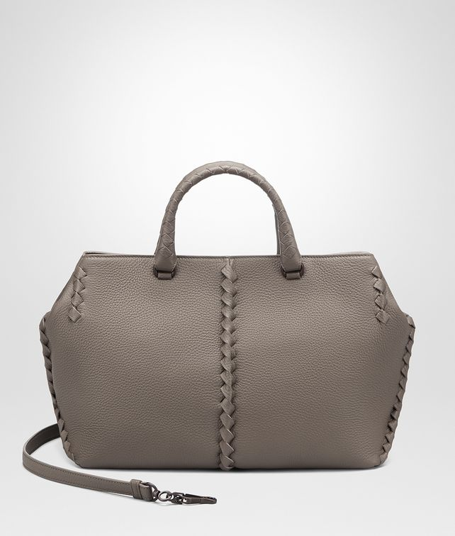 BOTTEGA VENETA STEEL CERVO MEDIUM TOTE Tote Bag [*** pickupInStoreShipping_info ***] fp