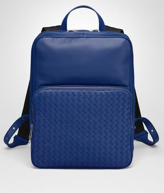 COBALT BLUE NAPPA BACKPACK