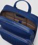 cobalt blue nappa backpack Back Portrait