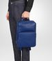 cobalt blue nappa backpack Full Out Portrait