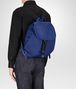 BOTTEGA VENETA COBALT BLUE CANVAS BACKPACK Messenger Bag Man ap