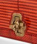 BOTTEGA VENETA TERRACOTTA ELAPHE KNOT CLUTCH Clutch Woman ep