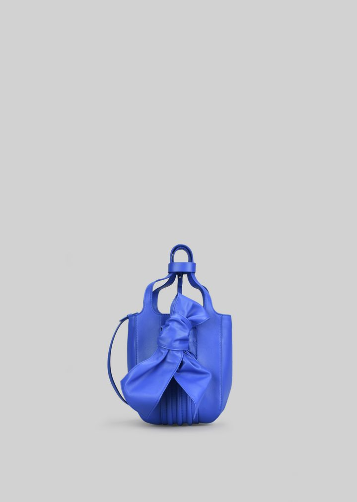 a46c96b92e TOTE BAG IN NAPA LEATHER WITH BOW | Woman | Giorgio Armani